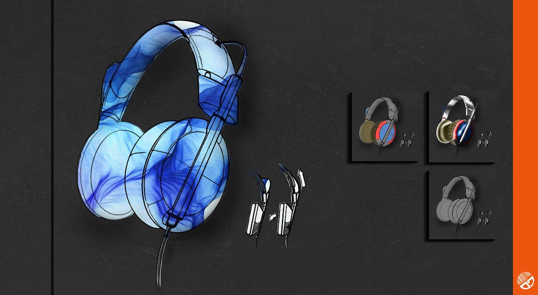 Produktdesign, Headphones
