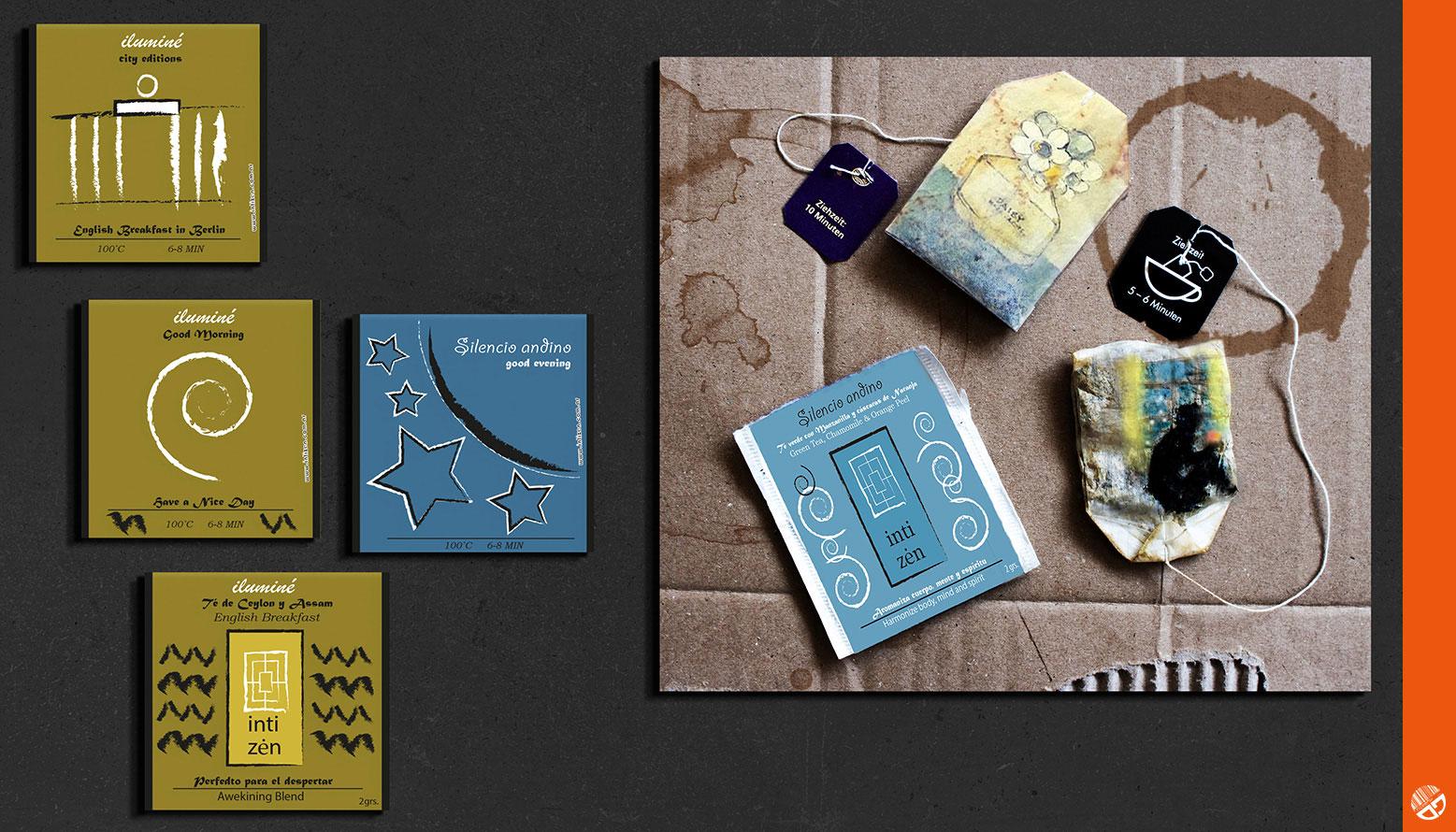 Teabag, Grafikdesign Art