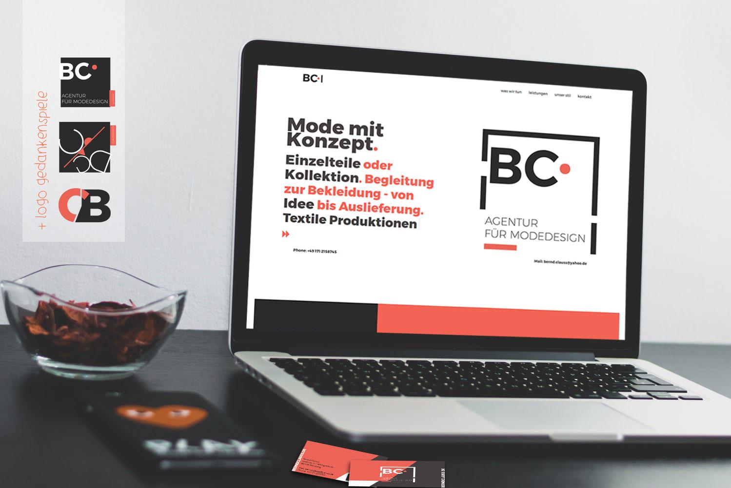 berndclauss.de, Webseite