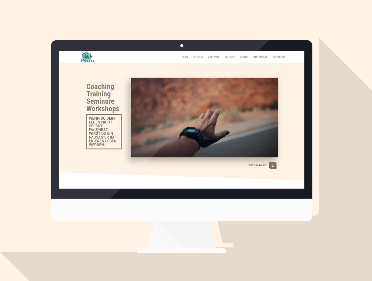 driveyourlife-spindler, Webseite