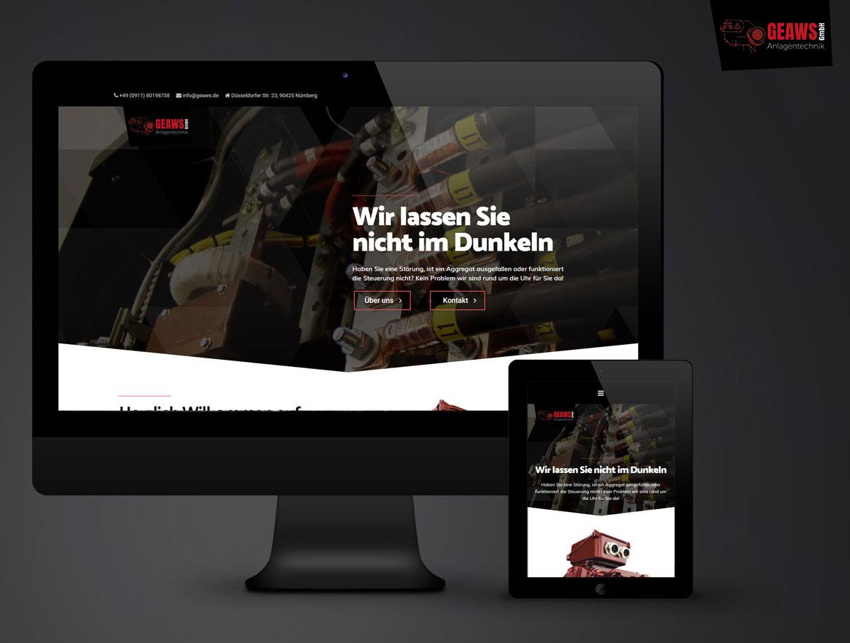 geaws Nürnberg, Webseite