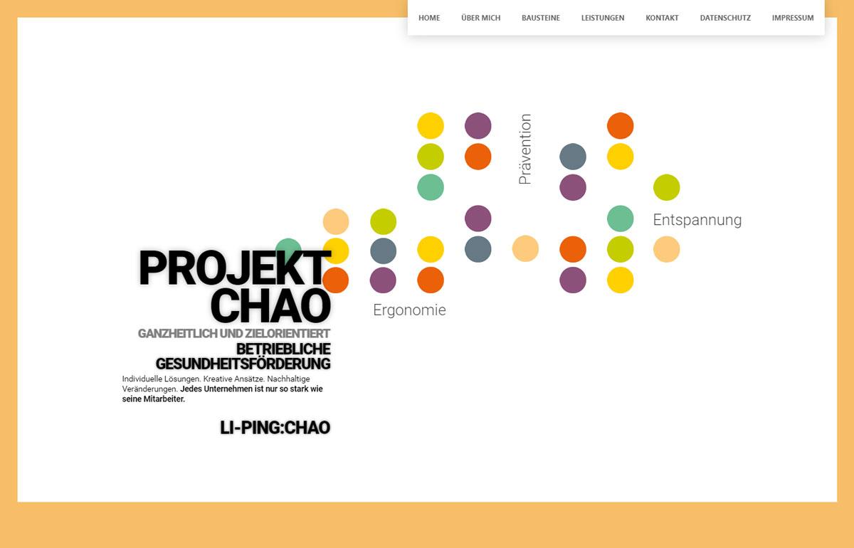 Projekt Chao Webseite, Nürnberg