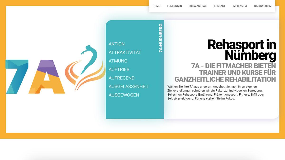7a Nürnberg, Webdesign