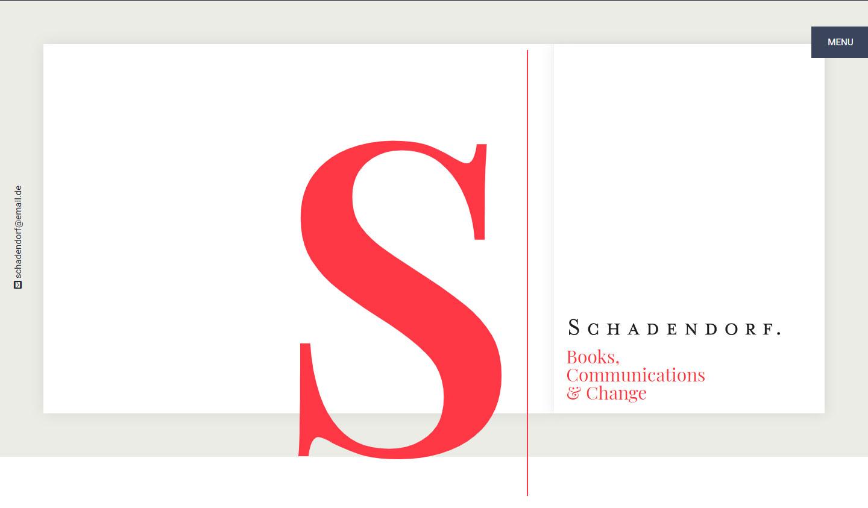 Jens Schadendorf, Webseite