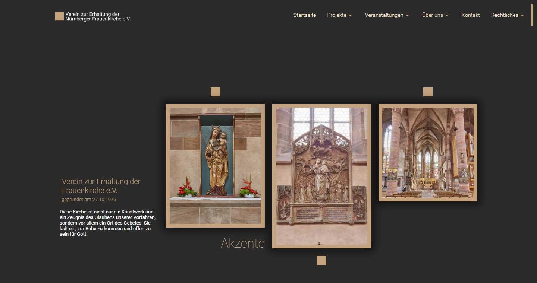 Verein zur Erhaltung der Frauenkirche e.V. - Webdesign